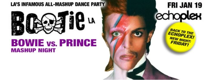 Bootie LA: Bowie vs  Prince Mashup Night at The Echoplex