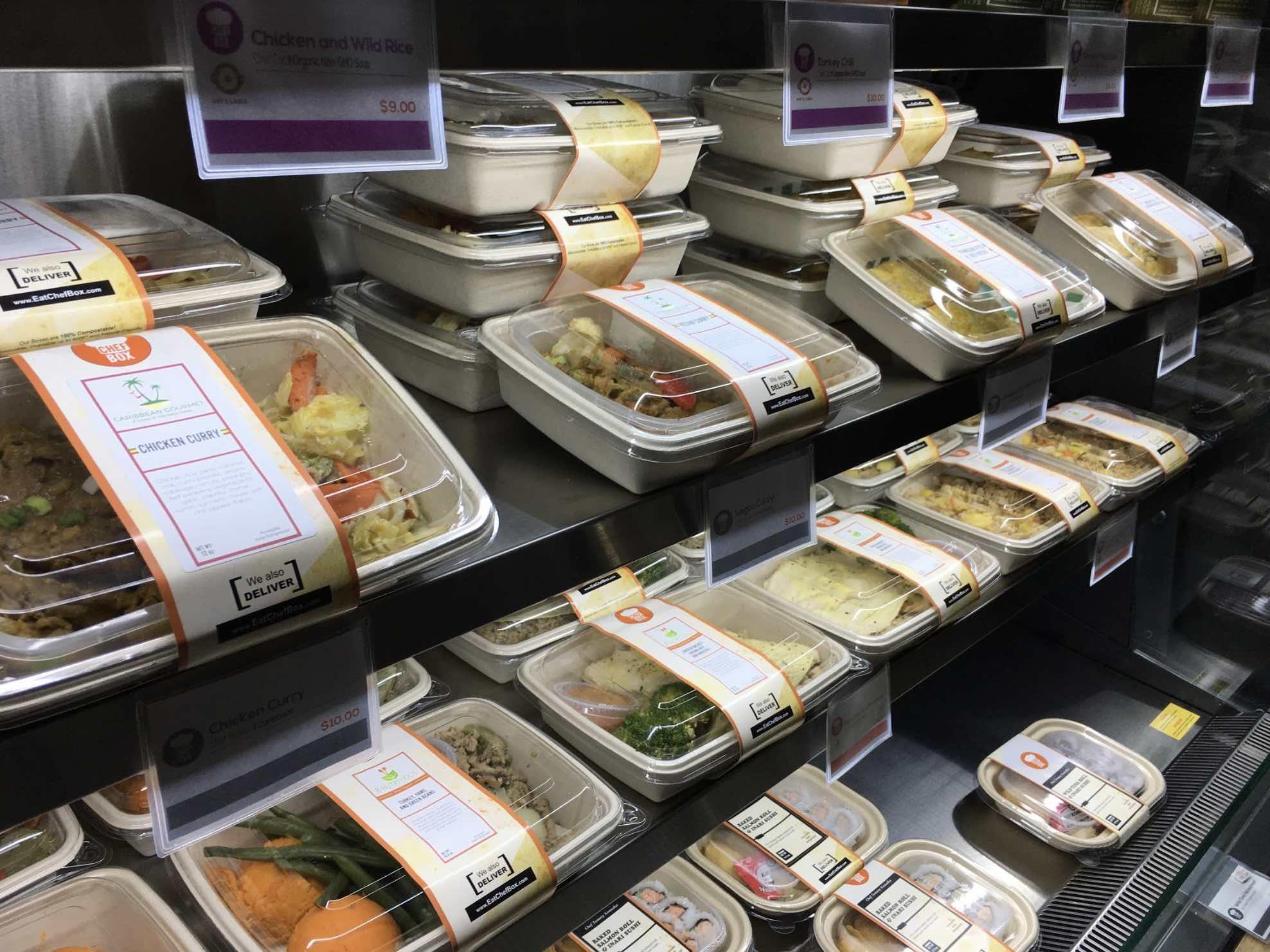 ChefBox Shelves