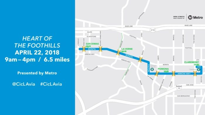 CicLAvia Heart of the Foothills