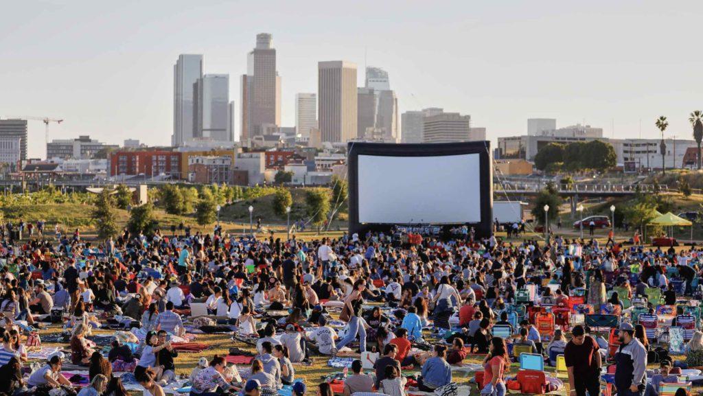 Street Food Cinema at LA State Historic Park
