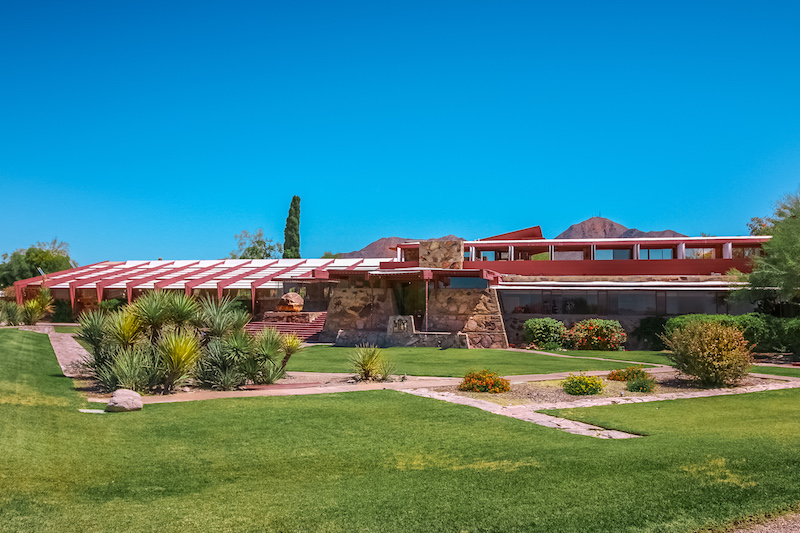 taliesin west frank lloyd wright