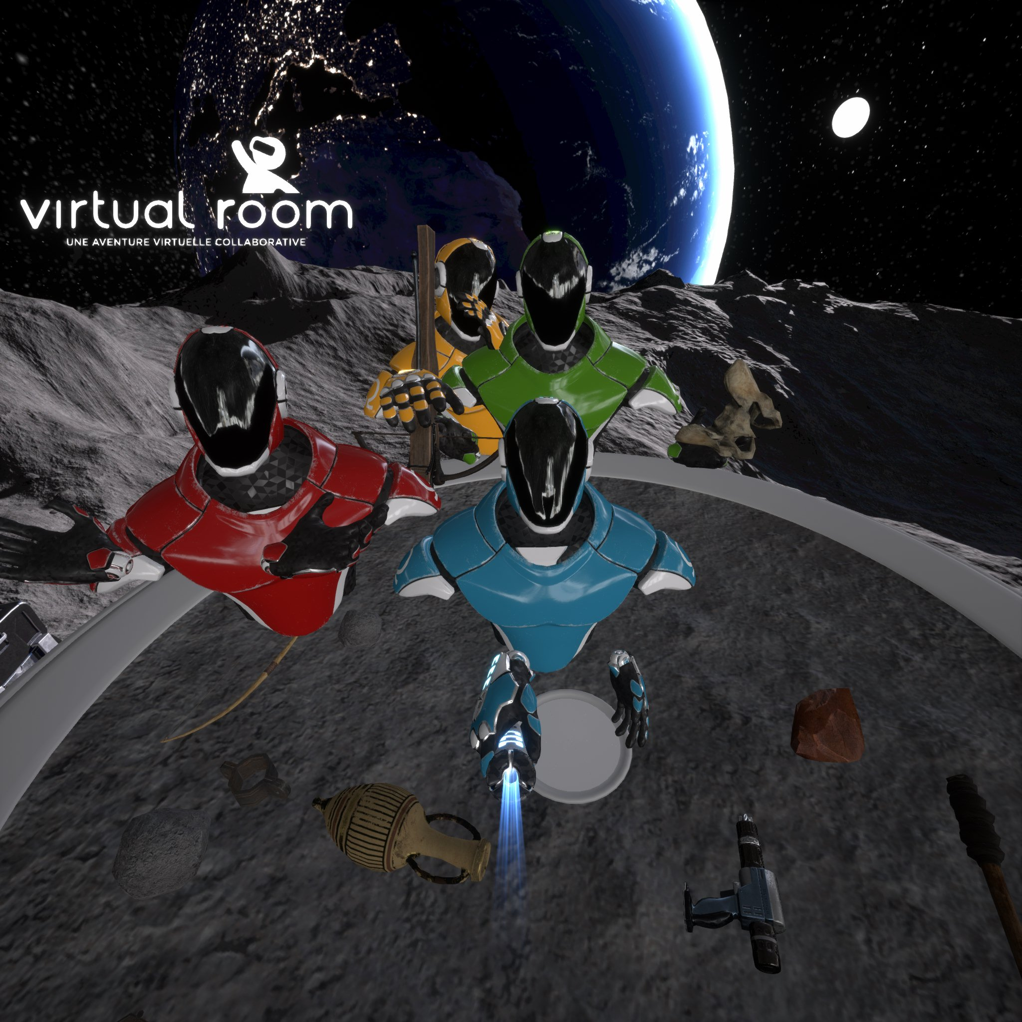 Virtual Room Selfie