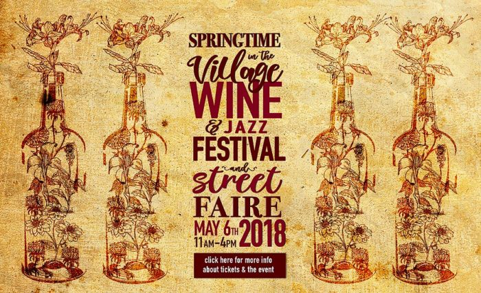 Springtime in the Village Wine & Jazz Festival and Street Faire at Vitello's