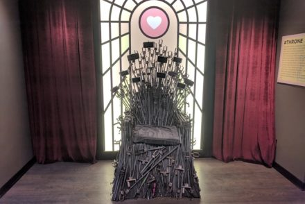 Iron Throne of Selfies