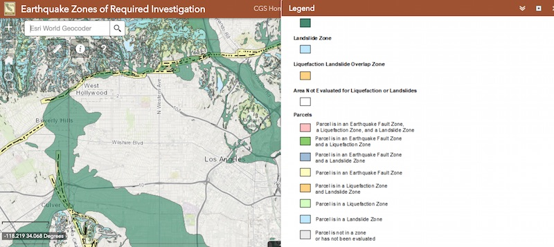 This Map Tool Will Show You If You Live In An Earthquake Hazard Zone