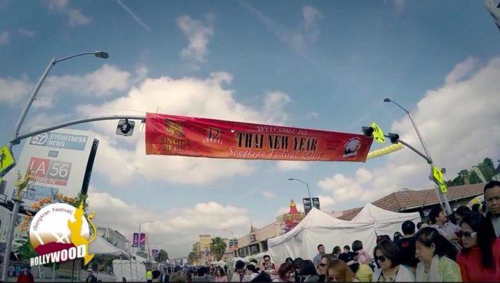 13th Annual Thai New Year Songkran Festival 2018 in Hollywood