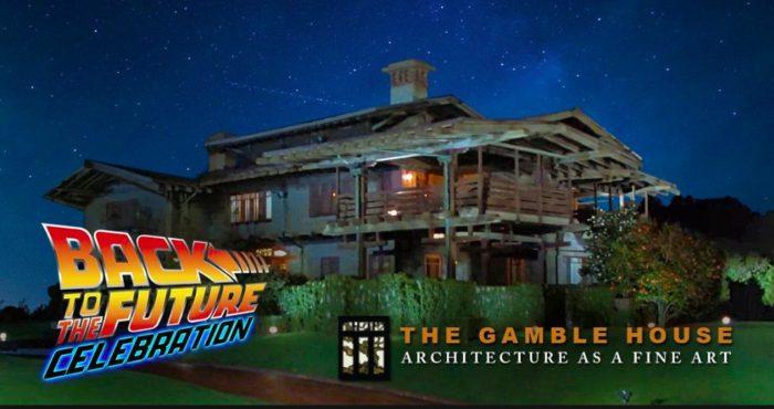 Doc Brown's Open House Gamble House Pasadena