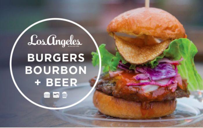 Burgers Bourbon + Beer