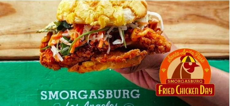 Smorgasburg Fried Chicken Day at Santa Anita Park