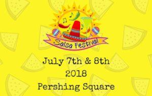 Los Angeles Salsa Festival 2018 at Pershing Square
