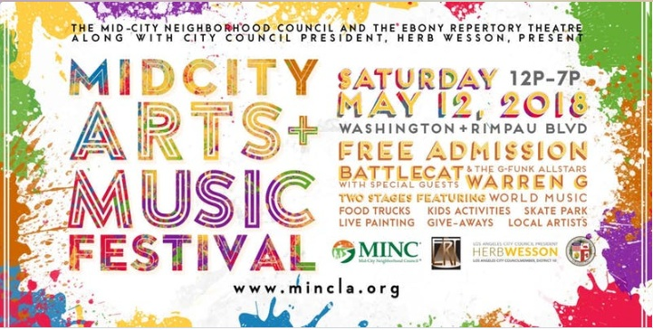 Mid City Arts and Music Festival Los Angeles