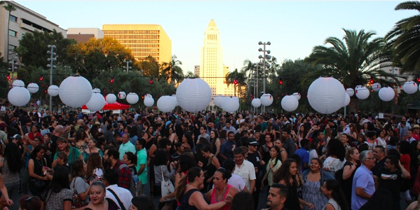 The Music Center's Dance DTLA at Grand Park 2018