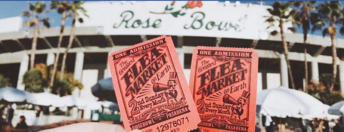 Rose Bowl Flea Market On June 10