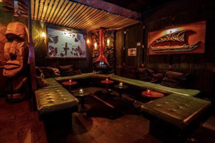 Tonga Hut interior