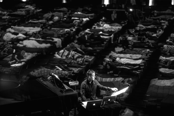 Max Richter's Sleep at Grand Park at the Music Center