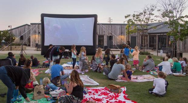 Screen on the Green 2018 at Trancas Market