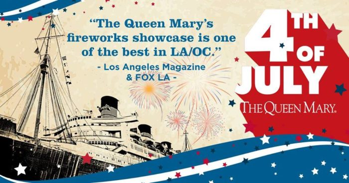 The Queen Mary's All-American 4th of July Celebration