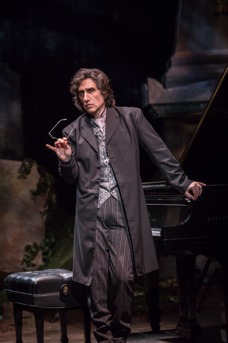 Hershey Felder: Beethoven. Photo Credit: Christopher Ash.