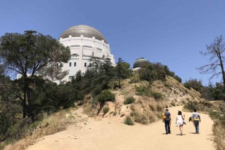 Griffith Observatory hiking