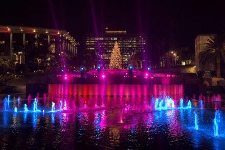 Grand Park Winter Glow