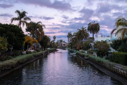 Venice Canals Dusk