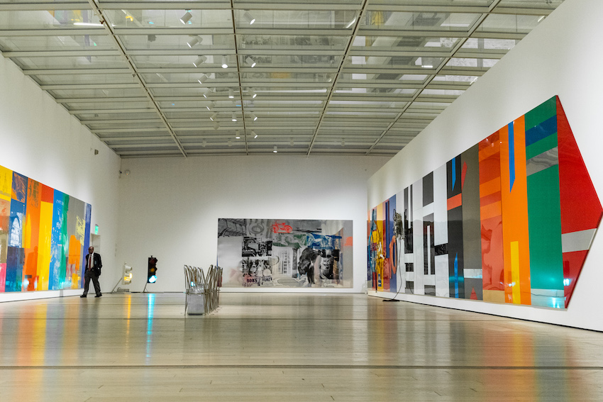 Rauschenberg's The 1/4 Mile