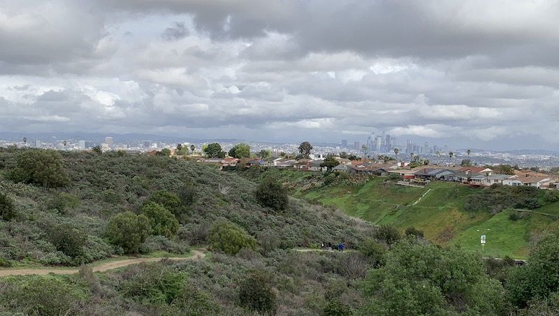 View of Kenneth Hahn State Recreation Area
