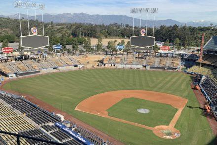 Dodger Stadium Field
