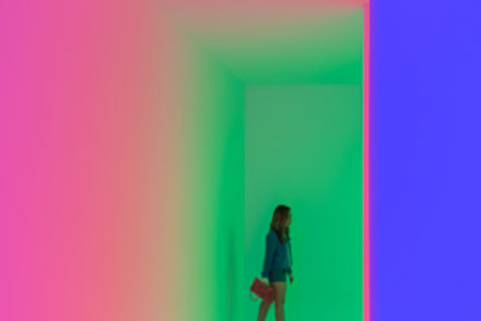 "Carlos Cruz-Diez, ""Chromosaturation,"" 1965/2017 at Palm Springs Art Museum"