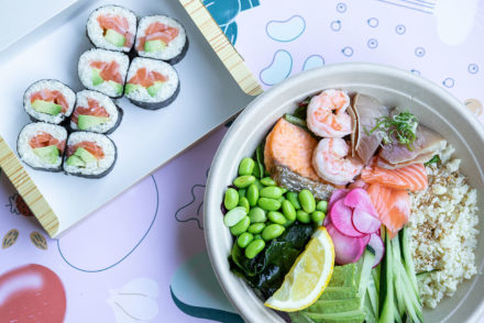 Skinnyfish Salmon Roll & Combo Bowl