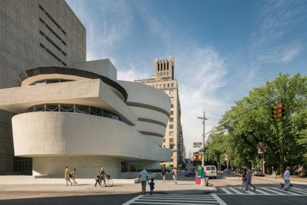 Solomon R. Guggenheim Museum in New York\, New York; Architect Frank Lloyd Wright