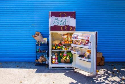 Food donated to LA Community Fridge Highland Park location
