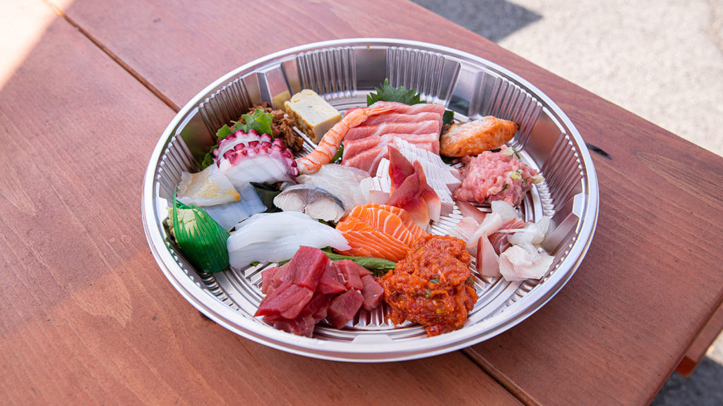 Sashimi Deluxe from Sushi Gen