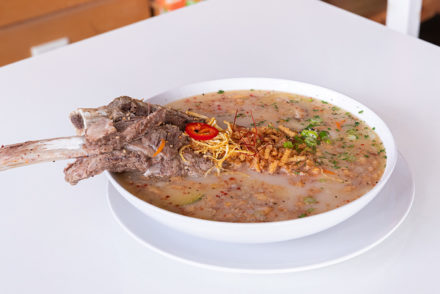 Short rib rice cake soup from Spoon by h