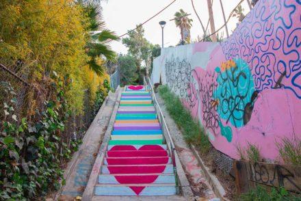 Silverlake Heart Stair