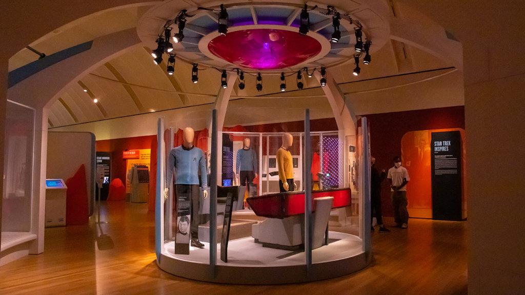 Star Trek: Exploring New Worlds exhibit at Skirball Cultural Center